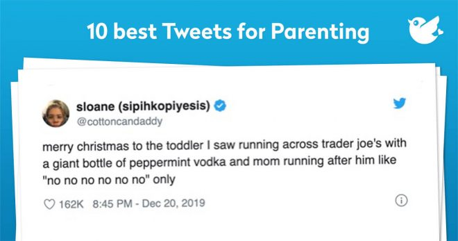 Whether you are a parent or not, we all have some kind of memory to look back at and reminisce. Here are your top ten Tweets for parenting.