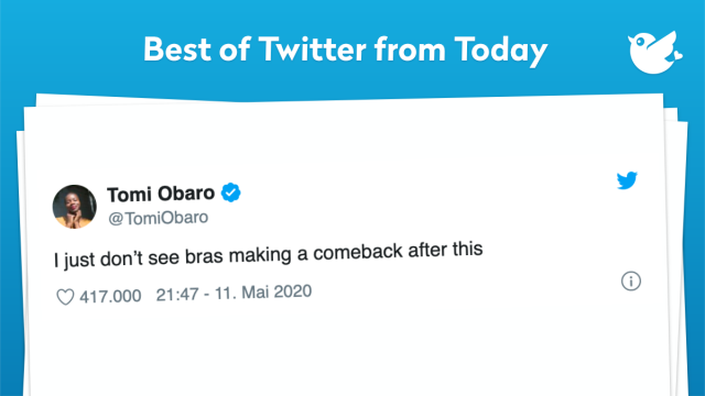 I just don't see bras making a comeback after this