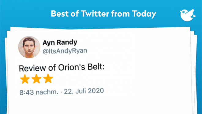 Review of Orion's Belt: ⭐⭐⭐