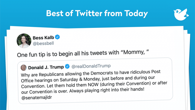 """One fun tip is to begin all his tweets with """"Mommy, """""""