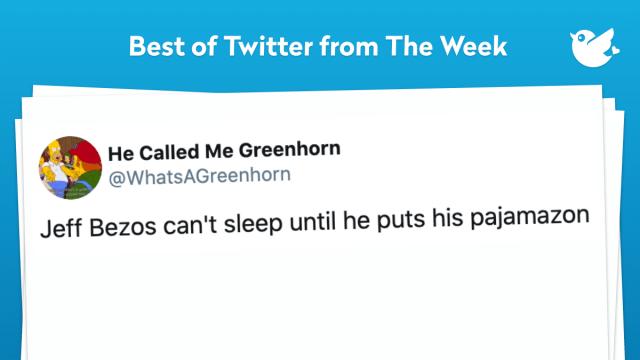 Jeff Bezos can't sleep until he puts his pajamazon