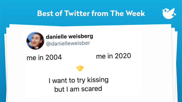 me in 2004 me in 2020 🤝 I want to try kissing but I am scared