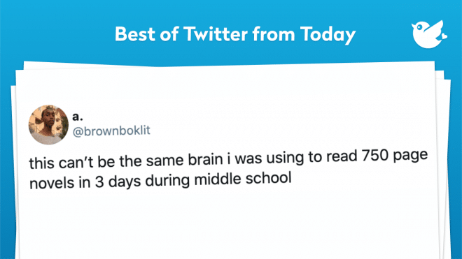 this can't be the same brain i was using to read 750 page novels in 3 days during middle school
