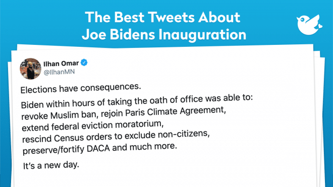 Elections have consequences. Biden within hours of taking the oath of office was able to: revoke Muslim ban, rejoin Paris Climate Agreement, extend federal eviction moratorium, rescind Census orders to exclude non-citizens, preserve/fortify DACA and much more. It's a new day.
