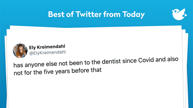 has anyone else not been to the dentist since Covid and also not for the five years before that